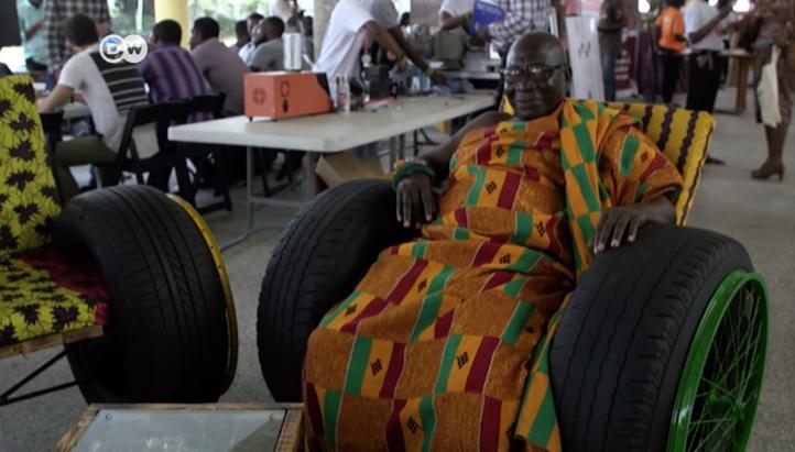 Dan una nueva vida a la basura en Ghana
