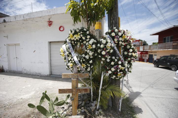 En Iguala aún permanecen las huellas del ataque a normalistas