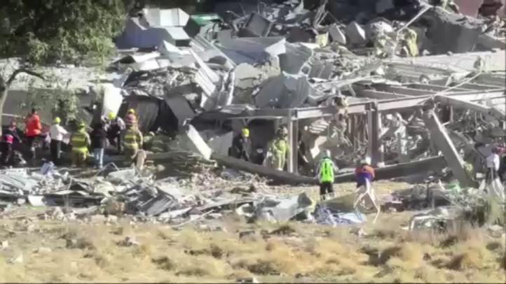 Dos muertos por explosión en Hospital Infantil de Cuajimalpa