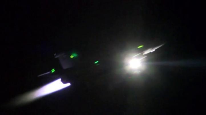 Francia bombardea Al Raqqa, al este de Siria
