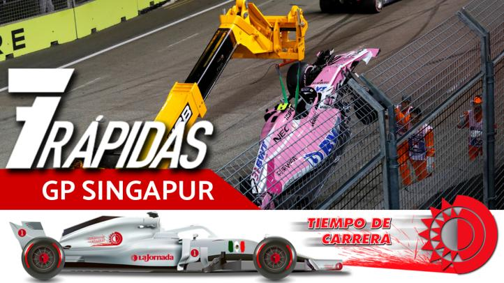 7 Rápidas del Gran Premio de Singapur