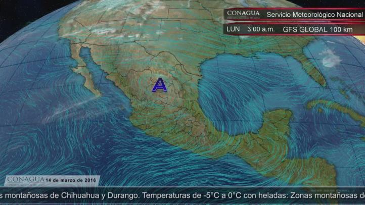 Pronóstico del tiempo para el 14 de marzo