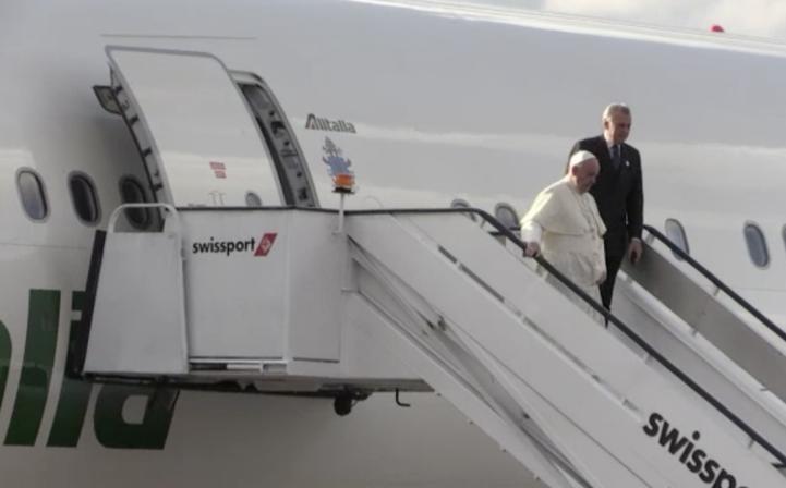 El papa Francisco inicia en Kenia su primera gira por África