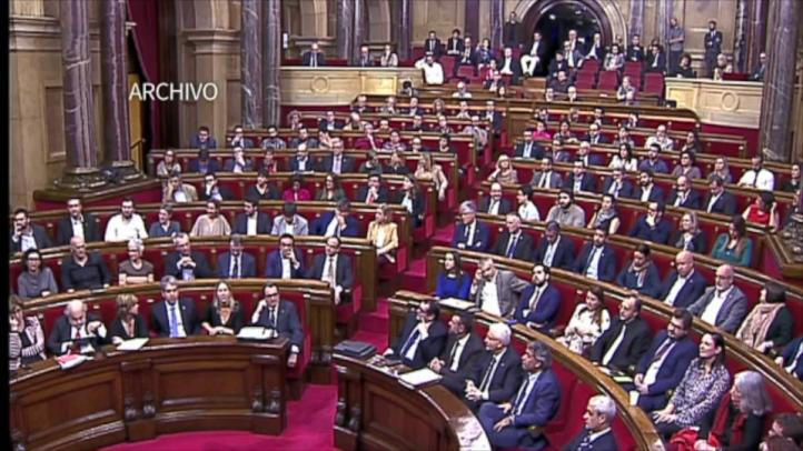Madrid impugna declaración independentista catalana