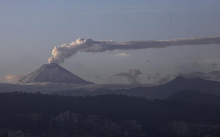Cotopaxi, el volcán más vigilado de Sudamérica