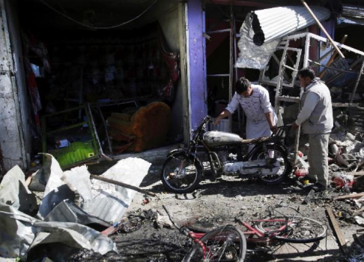 Ataque terrorista en Kabul