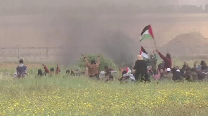 Mueren al menos ocho palestinos tras choques con soldados israelíes