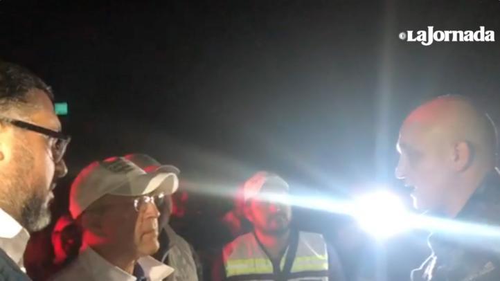 Federales tratan de impedir paso de migrantes en Oaxaca