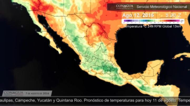 Pronóstico del tiempo para el 11 de agosto