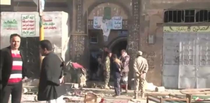 Suicida mata a 25 en una mezquita  en la capital de Yemen
