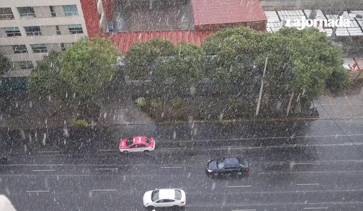 Llueve en el sur de la CDMX