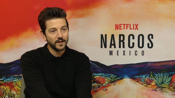 Diego Luna presenta cuarta temporada de 'Narcos'