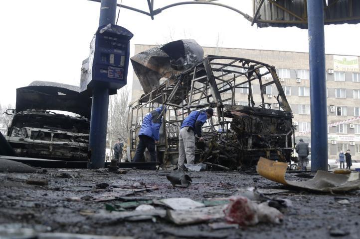 Ucrania: combates antes de conversaciones de paz