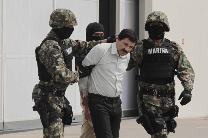 El Chapo es trasladado a un penal de alta seguridad