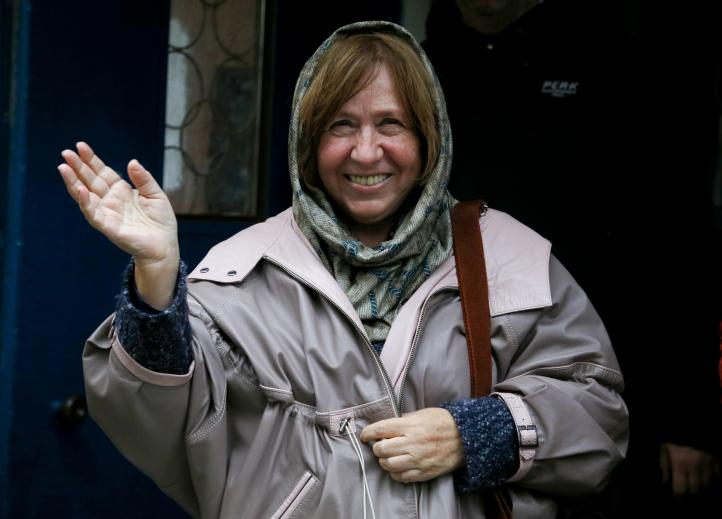 Nobel de Literatura para Svetlana Alexievich