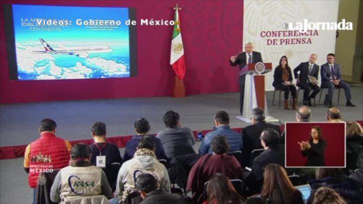 Propone López Obrador rifar el avión presidencial