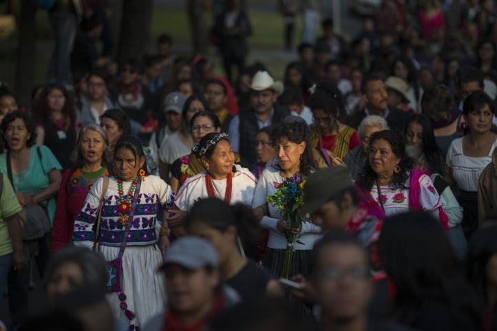 Marichuy en la UNAM: Estremezcamos juntos a esta nación