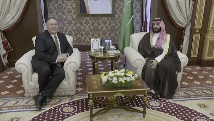 Pompeo consulta con saudíes sobre crisis con Irán
