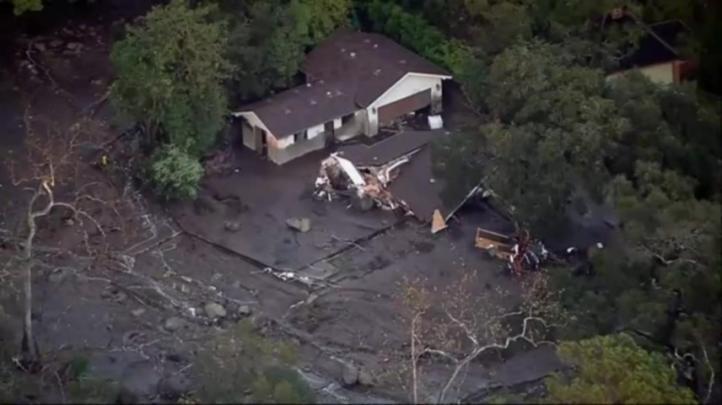 Aludes de lodo matan a 15 personas en California