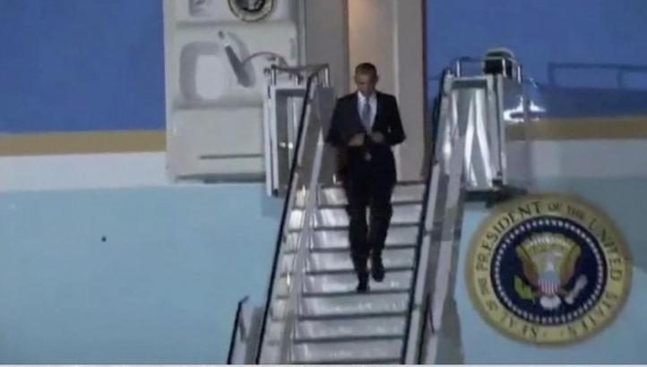 Barack Obama inició una visita de Estado en Kenia