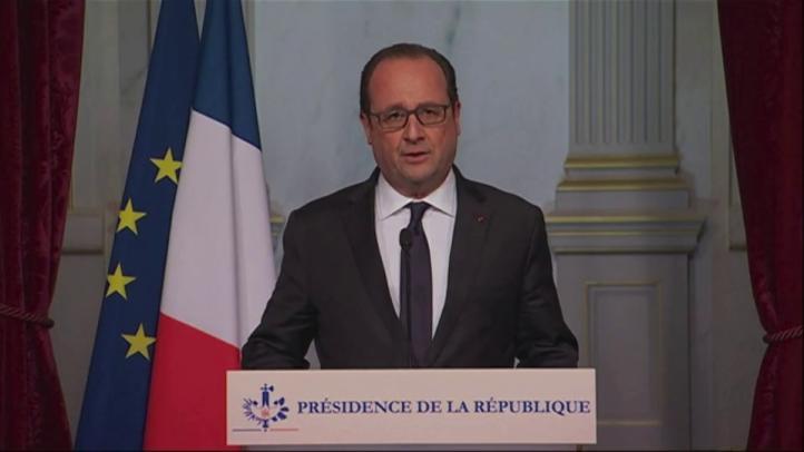 Hollande decreta estado de emergencia y cierre de fronteras