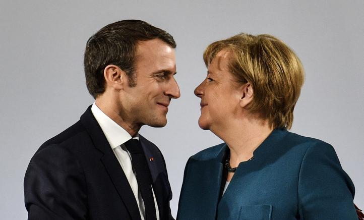 Macron y Merkel sellan tratado contra el nacionalismo