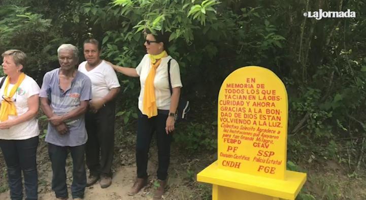 Veracruz: Colectivo Solecito localizó 298 personas en esta fosa