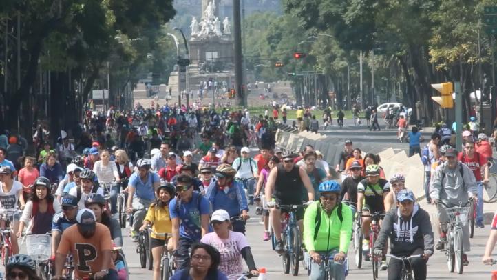 A rodar: Ciclismo urbano en la Ciudad de México