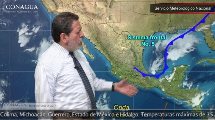 Pronóstico del tiempo para el 17 de octubre