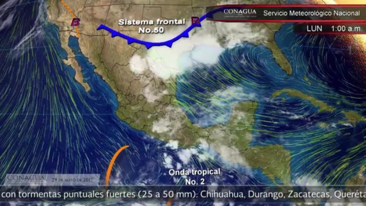 Pronóstico del tiempo para el 29 de mayo