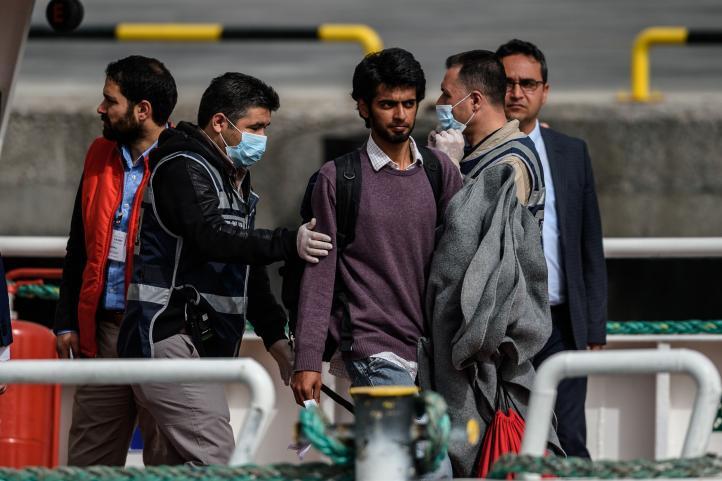 Grecia reanuda deportaciones desde sus islas