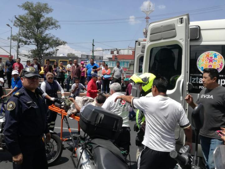 Atropellan a manifestantes en avenida Ermita