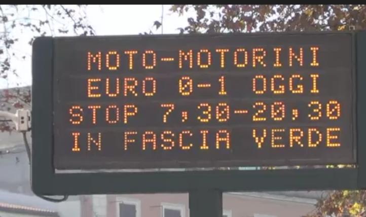 Limitan circulación de automóviles en Italia