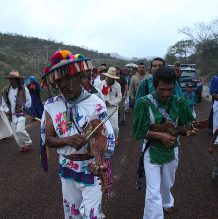 Acuerdan wixárikas y tepehuanos alianza para defender su territorio