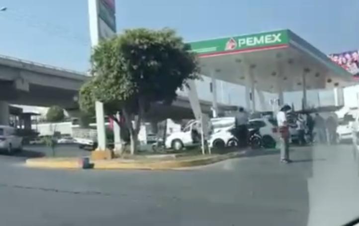 Desabasto de gasolina en San Luis Potosí