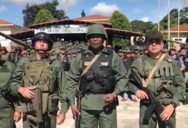 El ataque fue neutralizado: Ejército Bolivariano