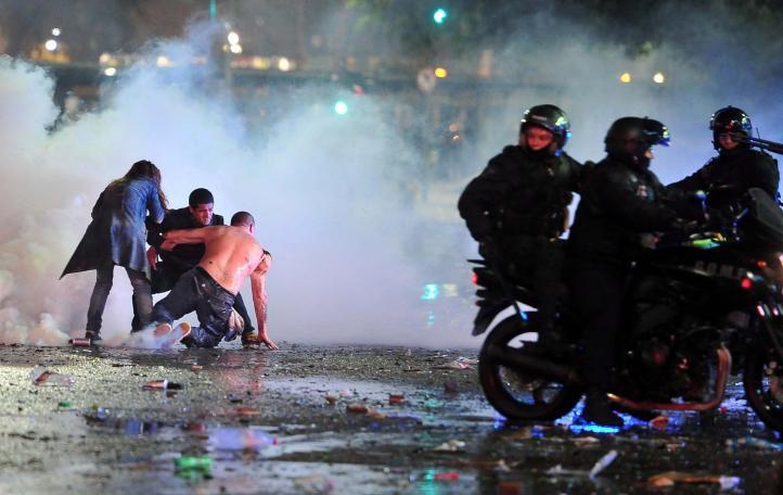 Disturbios en tres ciudades de Argentina tras la derrota en el Mundial