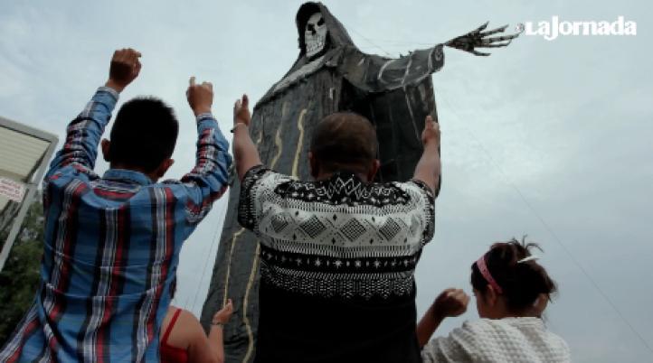 Crece la veneración por la Santa Muerte