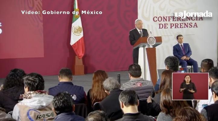 Afirma López Obrador que mantiene buena relación con la IP