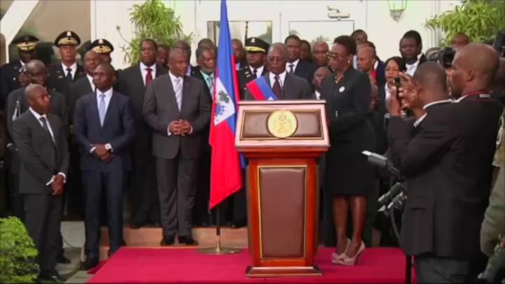 Legisladores haitianos eligen presidente provisional