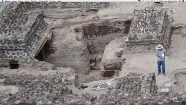 Descubren el nuevo ombligo de Teotihuacán