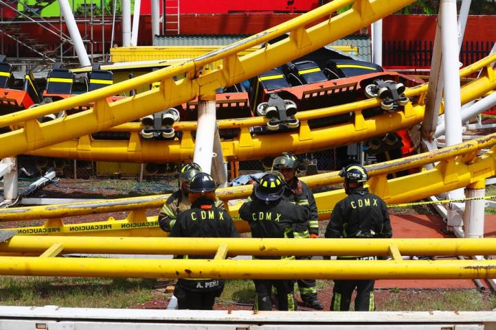Dos muertos y cinco heridos en accidente de Feria de Chapultepec
