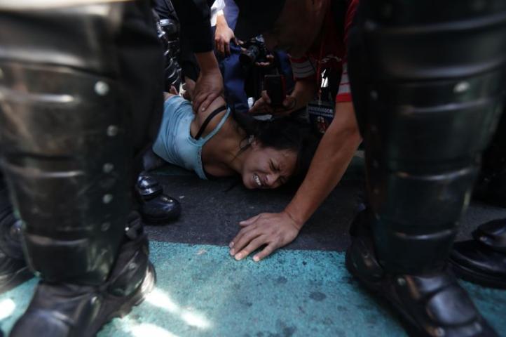 Detención de Alejandra Natalia Rodríguez