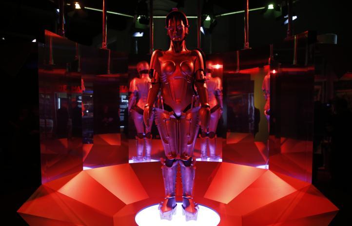 Robots invaden museo de Londres