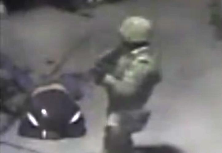 Militar ejecuta con tiro de gracia a un civil en Palmarito