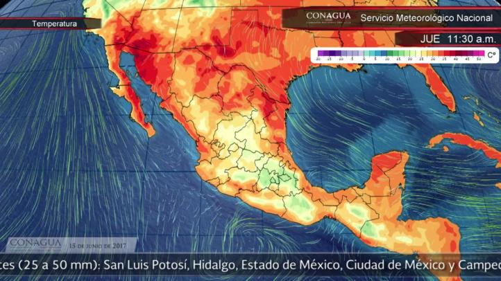 Pronóstico del tiempo para el 15 de junio