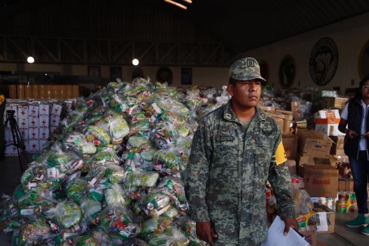 Refuerza Sedena operativo de ayuda en Oaxaca