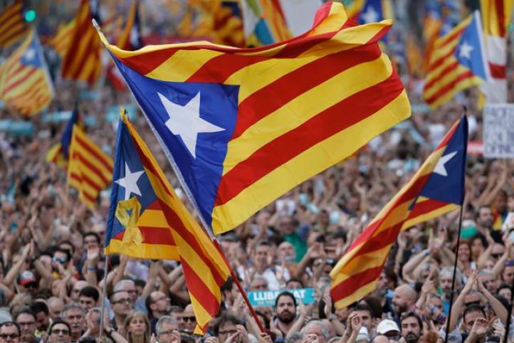 Marcha multitudinaria en Barcelona