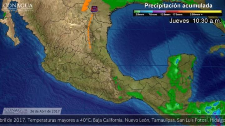 Pronóstico del tiempo para el 26 de abril