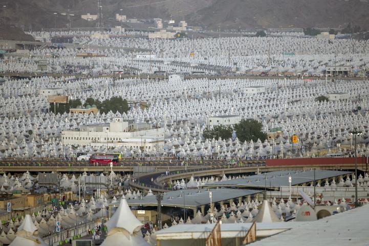 Musulmanes celebran el Eid al-Adha